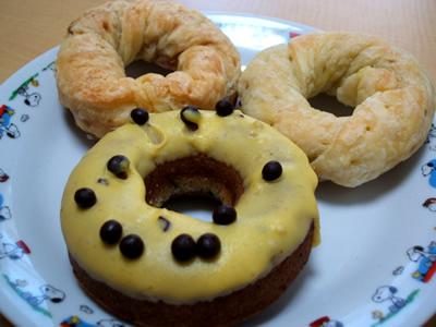 猿カフェの猿ドーナツ